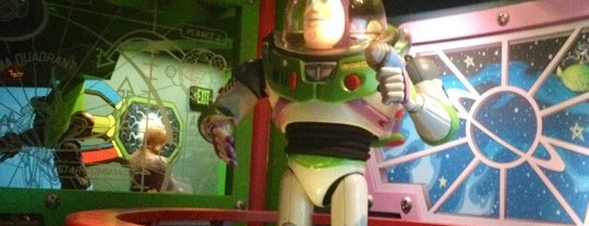 Buzz Lightyear Astro Blasters is one of Rides I Done...Rode.