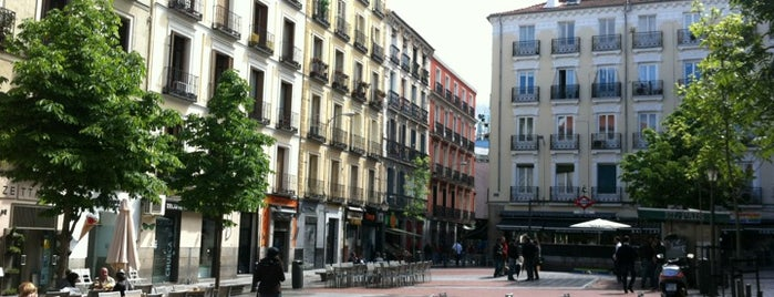 Plaza de Chueca is one of places.
