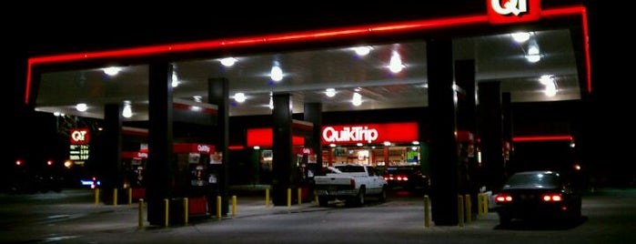 QuikTrip is one of frequent flyers :).