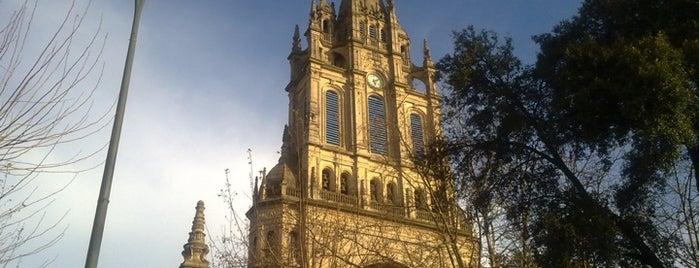Basílica de Begoña is one of let's get Bilbao's badge (Spain) #4sqCities.