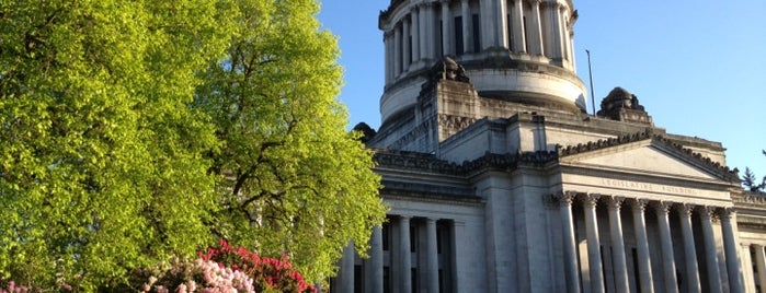 Washington State Capitol is one of The Crowe Footsteps.