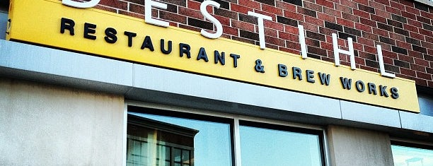 Destihl Restaurant & Brew Works is one of Favorite affordable date spots.