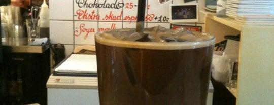 Riccos Kaffebar is one of coffee.