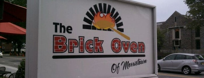 Brick Oven Pizza is one of Best places in Morristown, NJ.