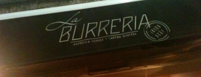 La Burrería is one of Mah fravrit.
