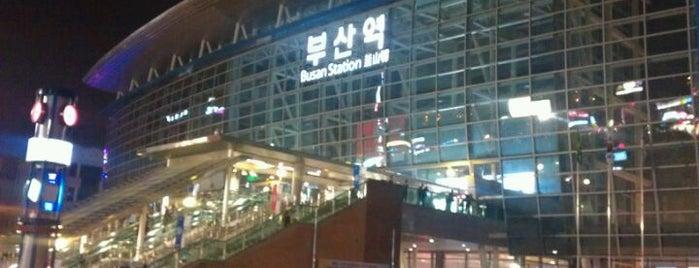 부산역 (Busan Stn. - KTX/Korail) is one of 10,000+ check-in venues in S.Korea.
