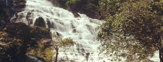 Mae Ya Waterfall is one of Guide to the best spots Chiang Mai|เที่ยวเชียงใหม่.