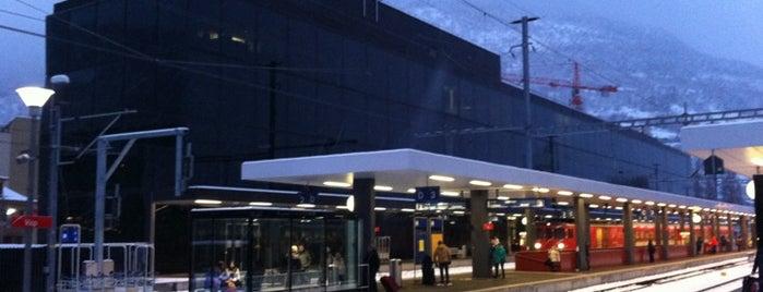 Bahnhof Visp is one of Bahnhöfe Top 200 Schweiz.