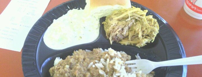 Maurice's BBQ Piggie Park is one of South Carolina Barbecue Trail - Part 1.