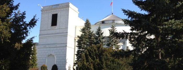 Sejm Rzeczypospolitej Polskiej is one of StorefrontSticker #4sqCities: Warsaw.