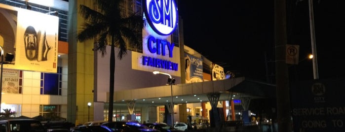 SM City Fairview is one of Malls.