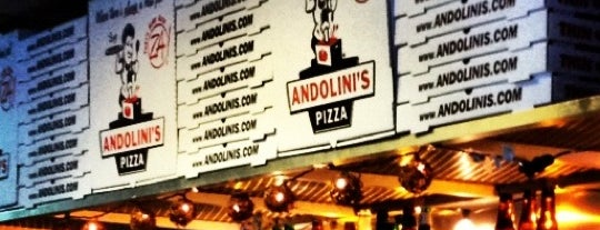 Andolini's Pizza is one of Favorites in Charleston.