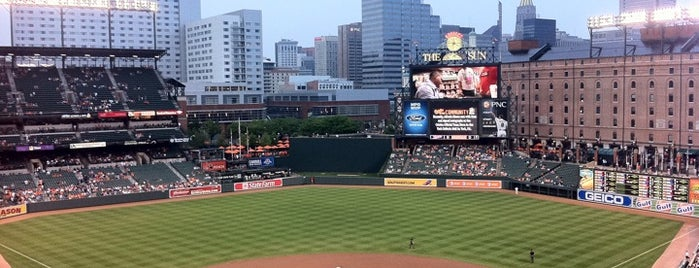 Oriole Park at Camden Yards is one of Sport Staduim.