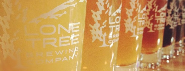 Lone Tree Brewery Co. is one of Colorado Microbreweries.