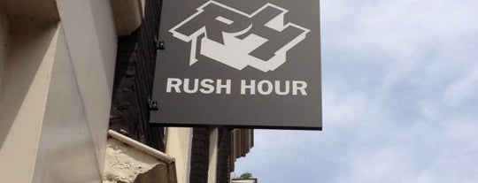 Rush Hour is one of Vinyl shops.