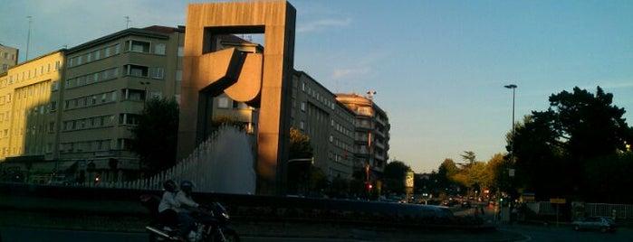 Praza de América is one of Mis favoritos de Vigo.