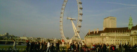 The London Eye is one of Places to visit.
