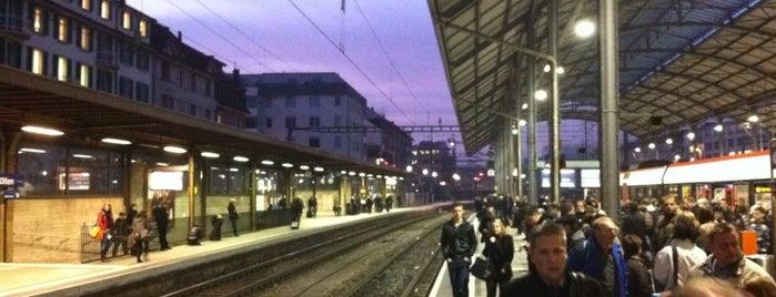 Bahnhof Olten is one of Bahnhöfe Top 200 Schweiz.