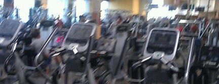 24 Hour Fitness is one of when I'm off.