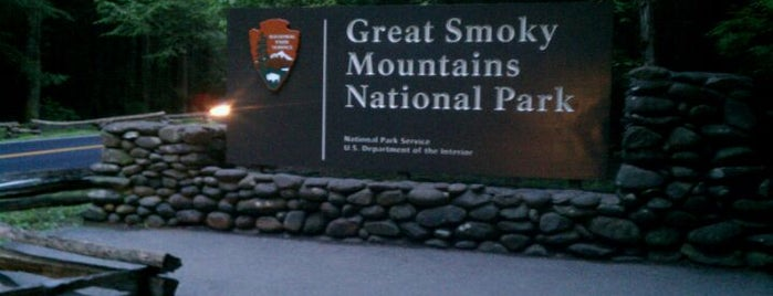 Great Smoky Mountains National Park is one of U.S. National Parks.