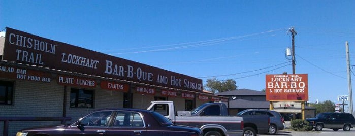 Chisholm Trail Bar-B-Q is one of The BEST of Texas BBQ!.