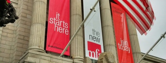 Museum of Fine Arts is one of Best Places to Check out in United States Pt 2.