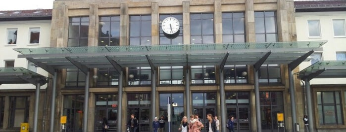 Kaiserslautern Hauptbahnhof is one of Ausgewählte Bahnhöfe.