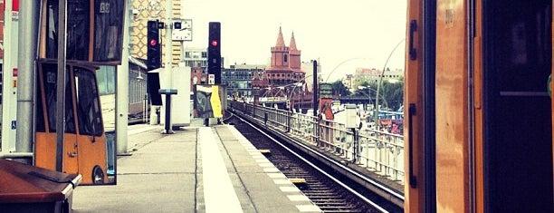 U Warschauer Straße is one of U-Bahn Berlin.