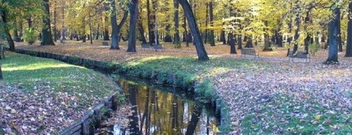Park Boženy Němcové is one of OUT DOOR-Areas.
