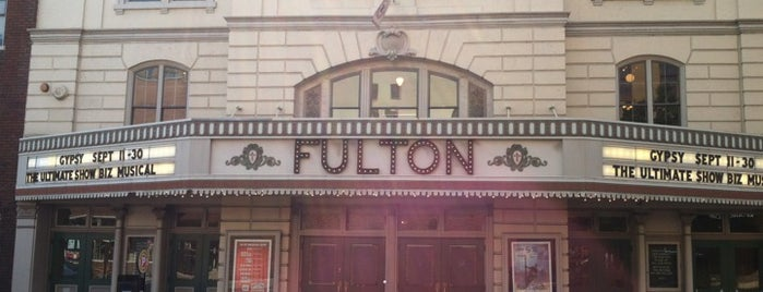 Fulton Opera House is one of Lancaster.