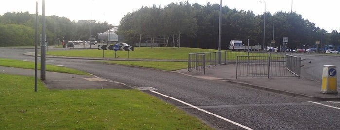 Springkerse Roundabout is one of Named Roundabouts in Central Scotland.