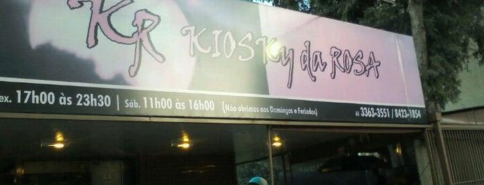 Kiosky da Rosa is one of Restaurante.