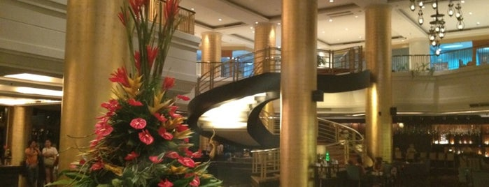 Dusit Thani Manila is one of Makati Fave Spots.