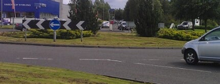 Broadleys Roundabout is one of Named Roundabouts in Central Scotland.