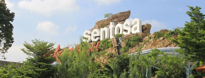 Sentosa Island is one of Simply Singapore.