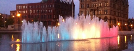 Clinton Square is one of A Tour Guide to Syracuse.