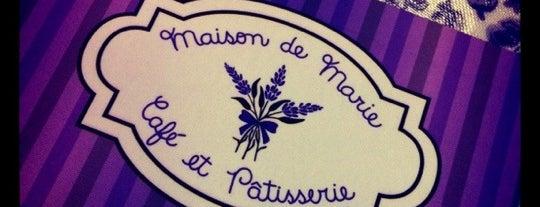 Maison de Marie - Café et Pâtisserie is one of Docerias/Sobremesas.