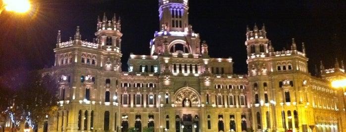 Palacio de Cibeles is one of @ Madrid (MD, España).