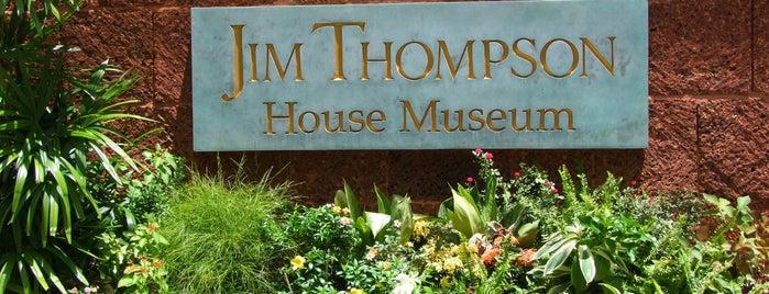 Jim Thompson House & Museum (พิพิธภัณฑ์บ้านไทย จิม ทอมป์สัน) is one of Bangkok (กรุงเทพมหานคร).