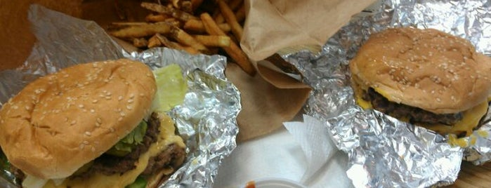 Five Guys Burgers and Fries is one of Food.