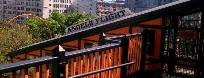 Angels Flight Railway is one of The Historical Landmarks of LA Noire.