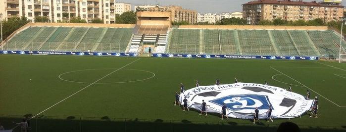 МСА Динамо is one of Stadiums.