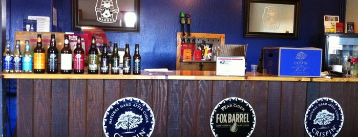 Fox Barrel is one of Brooklyn Pour Breweries 2012.