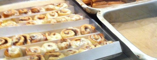 Cinnabon is one of Queens Center Mall.