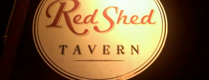 Red Shed Tavern is one of Pinball in Austin.