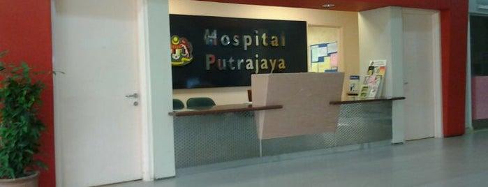Hospital Putrajaya is one of Putrajaya.