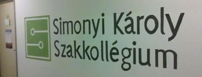 Simonyi Károly Szakkollégium is one of Tagszervezeteink.