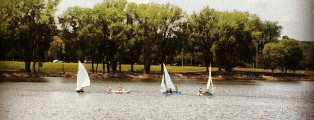 Gray's Lake Park is one of Entertainment: USA.