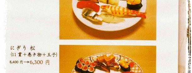 鮨 青木 is one of Michelin Guide Tokyo (ミシュラン東京) 2012 [*].