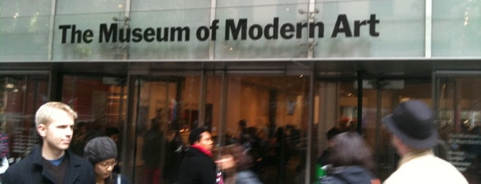 Museum of Modern Art (MoMA) is one of Uptown Art & Design Museums.
